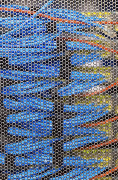 LAN kábel Cambridge szerver rack technológia számítógépek Stock fotó © cozyta