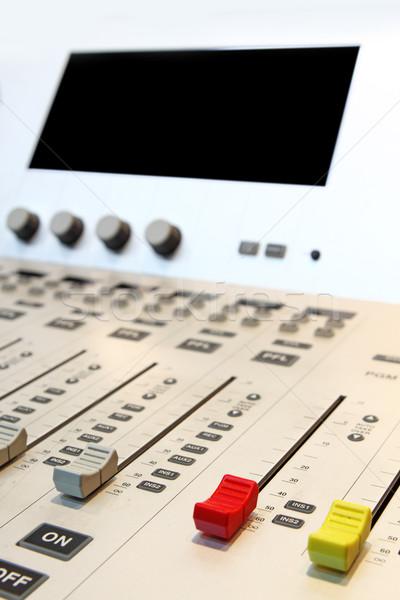 Sonido mezclador música escritorio digital Foto stock © cozyta