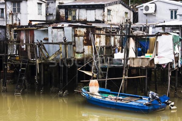Tai O, A small fishing village in Hong Kong  Stock photo © cozyta