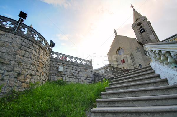 church in macau Stock photo © cozyta