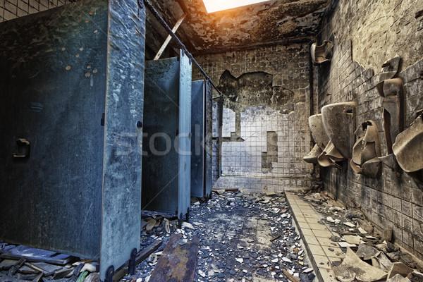Mental Hospital Bathroom Stock photo © cozyta