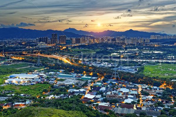 Cityscape of Yuen Long Stock photo © cozyta