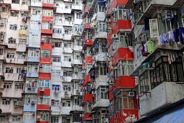 Oude Hong Kong dag home wereld Stockfoto © cozyta