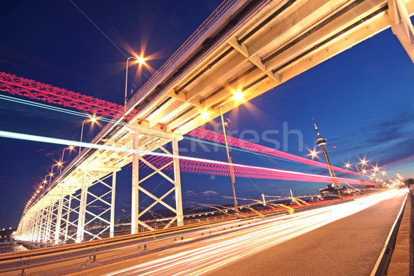 highway under the bridge in macau  Stock photo © cozyta