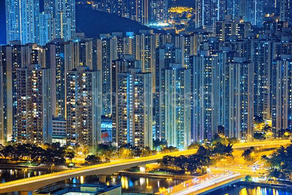 Hong Kong Public living downtown Stock photo © cozyta