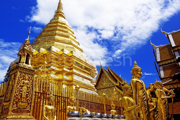Turísticos destino culto oro paz tropicales Foto stock © cozyta