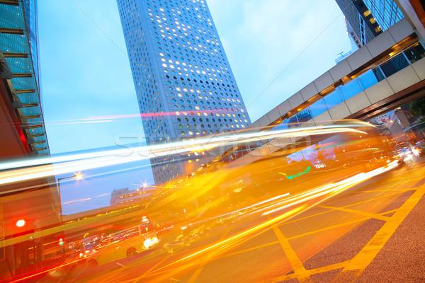 traffic city dusk Stock photo © cozyta