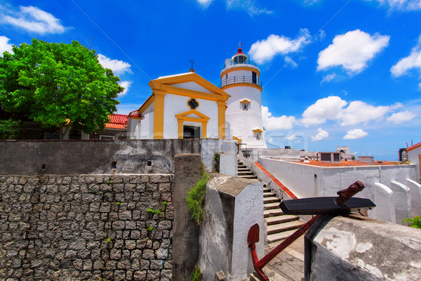 Guia Lighthouse, Fortress and Chapel, Macau.  Stock photo © cozyta