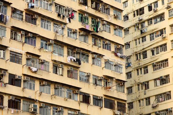 古い 香港 日 ホーム ストックフォト © cozyta