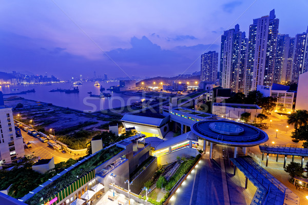 hong kong public estate  Stock photo © cozyta