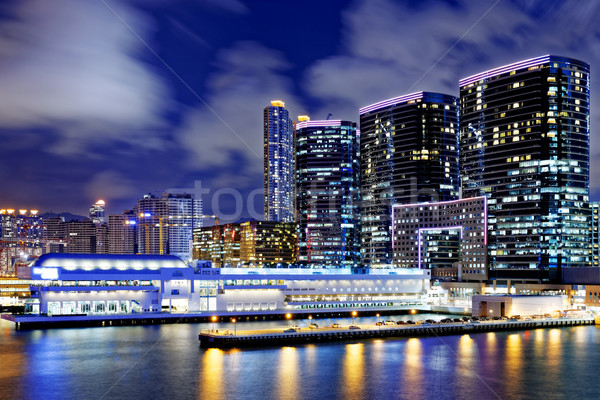 hong kong office buildings Stock photo © cozyta