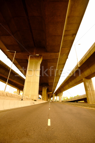 highway under the bridge Stock photo © cozyta