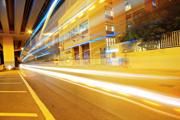 traffic in city Stock photo © cozyta