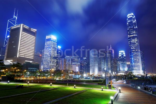 Park in HongKong City Stock photo © cozyta