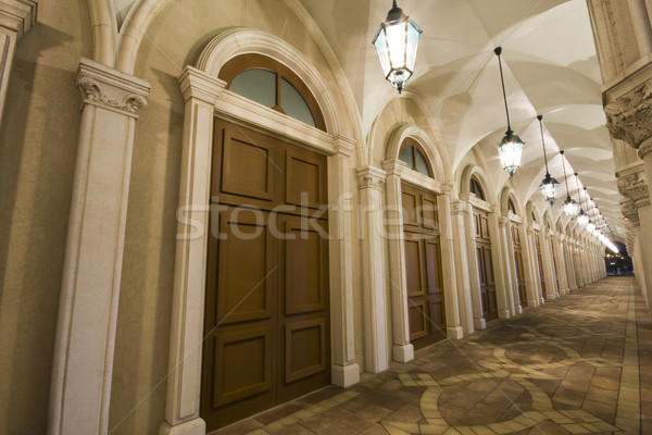 corridor of europe style in macau Stock photo © cozyta