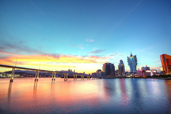 Macau city  Stock photo © cozyta