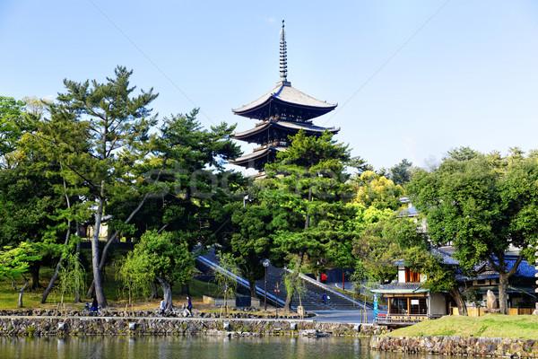 ориентир башни храма Япония Сток-фото © cozyta