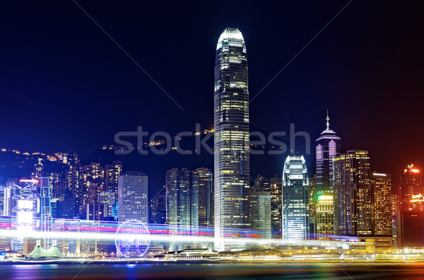 Hong Kong Island from Kowloon. Stock photo © cozyta