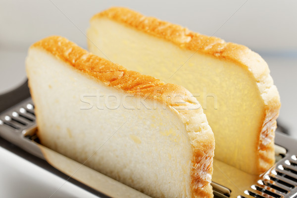 Toaster with bread slices  Stock photo © cozyta