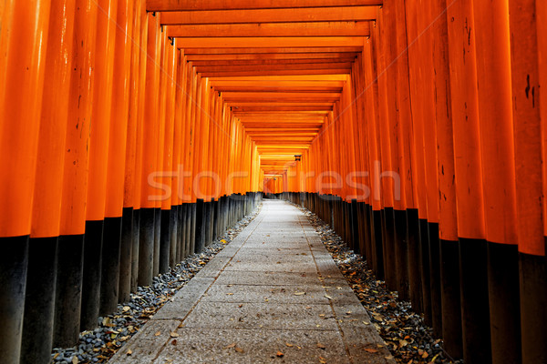 Fushimi Inari Taisha Shrine Stock photo © cozyta