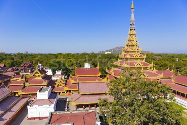 Mandalay Palace.Myanmar Stock photo © cozyta