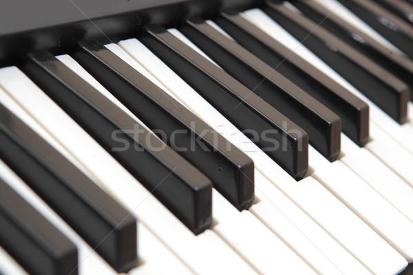 piano keyboard Stock photo © cozyta
