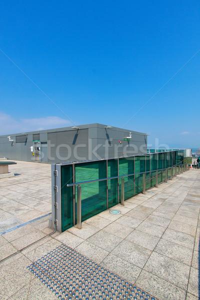 屋上 広い 表示 空 家 市 ストックフォト © cozyta