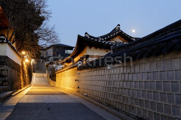 Downtown cityscape of Seoul Stock photo © cozyta