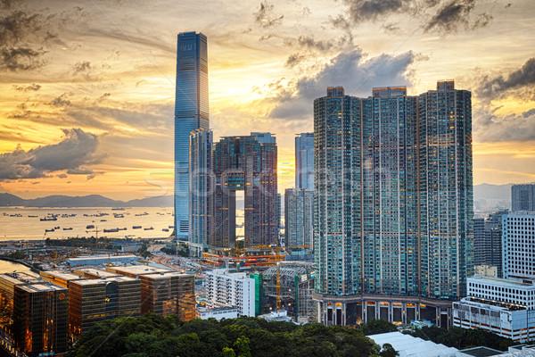 Hong Kong Modern City Stock photo © cozyta