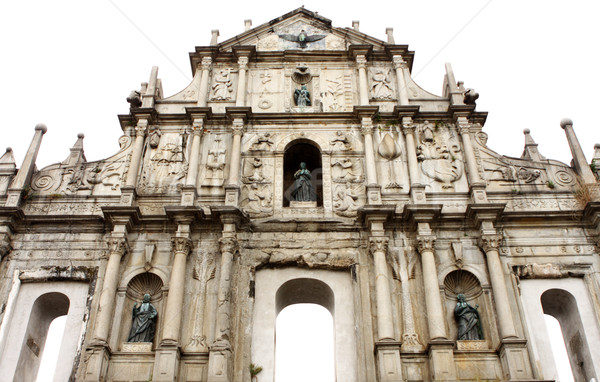 Saint Paul church in Macau  Stock photo © cozyta
