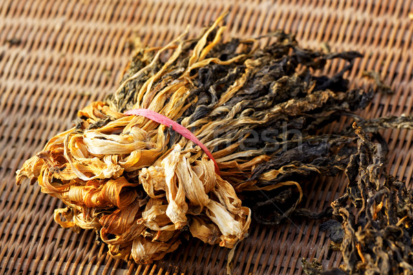 Chinese dried white cabbage Stock photo © cozyta