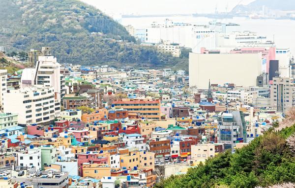 Gamcheon Culture Village, Busan Stock photo © cozyta