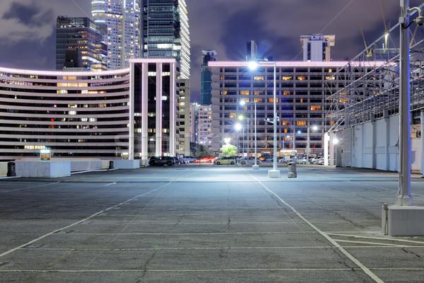 car park at night Stock photo © cozyta