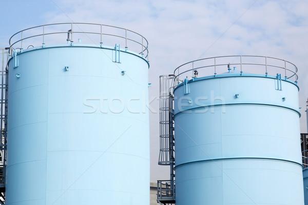 большой белый бензин нефть Роттердам порт Сток-фото © cozyta