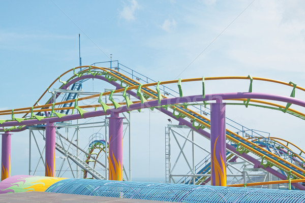rollercoaster  Stock photo © cozyta