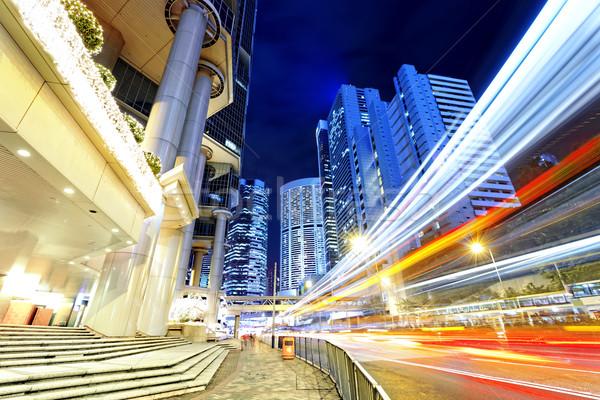 night scene of modern city  Stock photo © cozyta