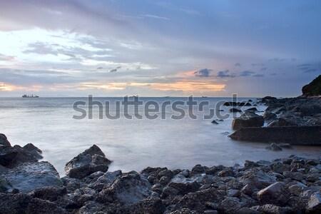 sunset coast  Stock photo © cozyta