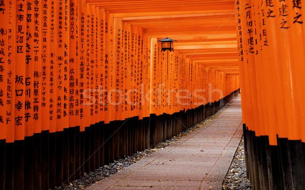 Kyoto şehir Japonya çekim kamu Stok fotoğraf © cozyta