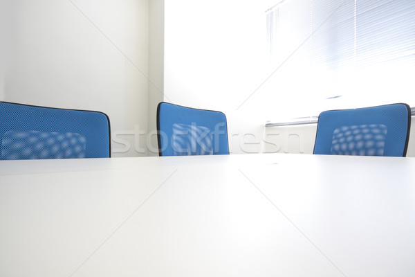 Konferans salonu iç gün iş ahşap çalışmak Stok fotoğraf © cozyta