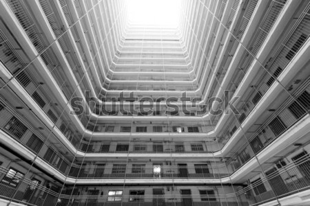 public housing apartment block  Stock photo © cozyta