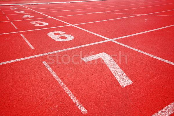 Running track Stock photo © cozyta