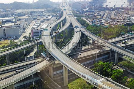 city overpass in HongKong,Asia China  Stock photo © cozyta
