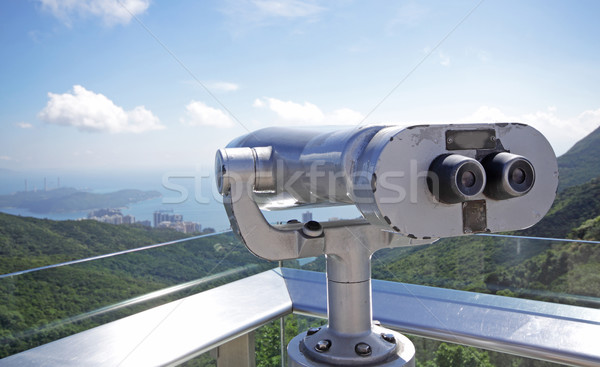 telescope overlooking for natural Stock photo © cozyta