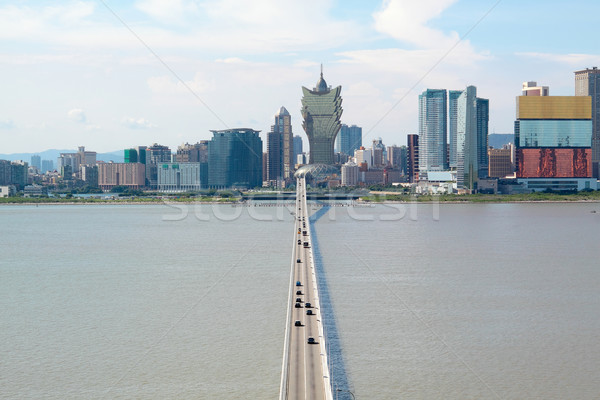 macao city and blue sky Stock photo © cozyta