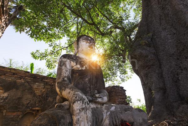 Buddha in sagaing , Mandalay Stock photo © cozyta