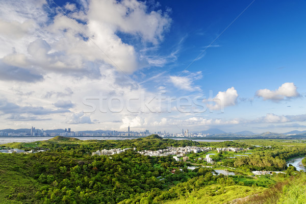 Hong Kong countryside Stock photo © cozyta
