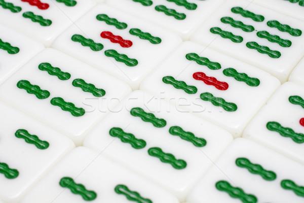Mahjong tiles Stock photo © cozyta