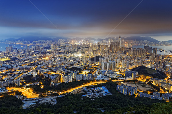 Residential building in Hong Kong  Stock photo © cozyta