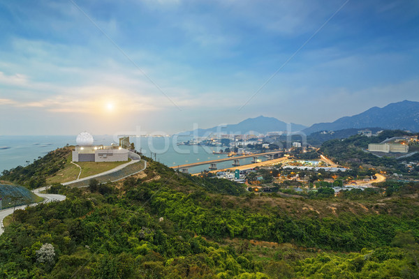 Hong Kong observatory Stock photo © cozyta