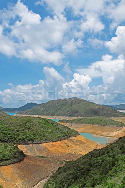 Mountain lake Stock photo © cozyta